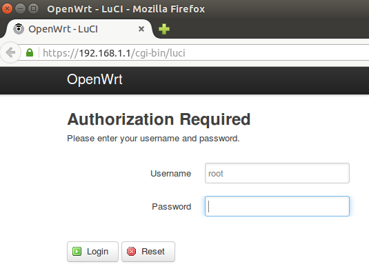 OpenWrt: Enabling HTTPS for the LuCI Web Admin Interface