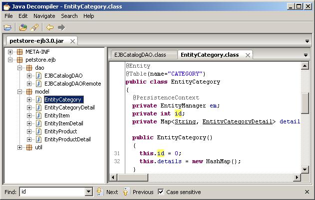 Ubuntu: Decompiling Java classes on Ubuntu using Eclipse and