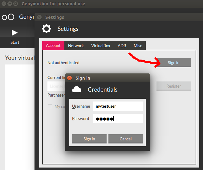 Ubuntu: Installing the Genymotion Android emulator – Fabian Lee