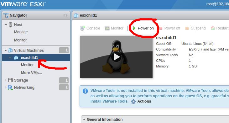 KVM: Deploying a nested version of VMware ESXi 6 7 inside