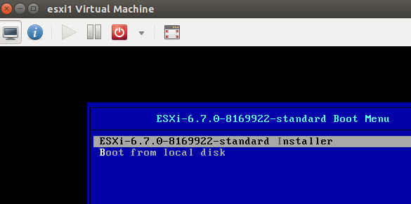 KVM: Deploying a nested version of VMware ESXi 6 7 inside